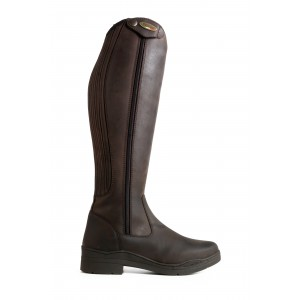 WB126 Monte Cervino Zipped Country Riding Boots