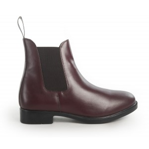 JBC Pavia Piccino Kids Unisex Boots in Oxblood