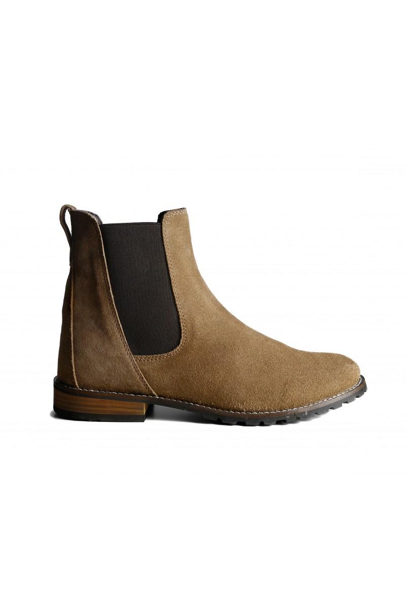 39251c4776dc CB015 Beattie Suede Chelsea Boot   Brogini